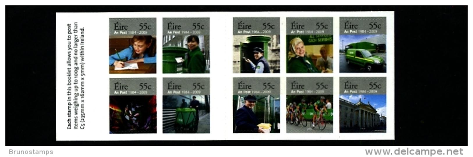 IRELAND/EIRE - 2009  AN POST ANNIVERSARY  SET  EX  BOOKLET  MINT NH - Nuovi
