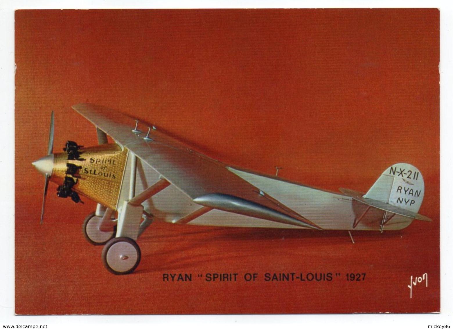 """Les Collections Du Musée De L'air--Avion--RYAN """"Spirit Of St Louis""""-- 1927 --modèle Réduit 1/10- - Avions"""