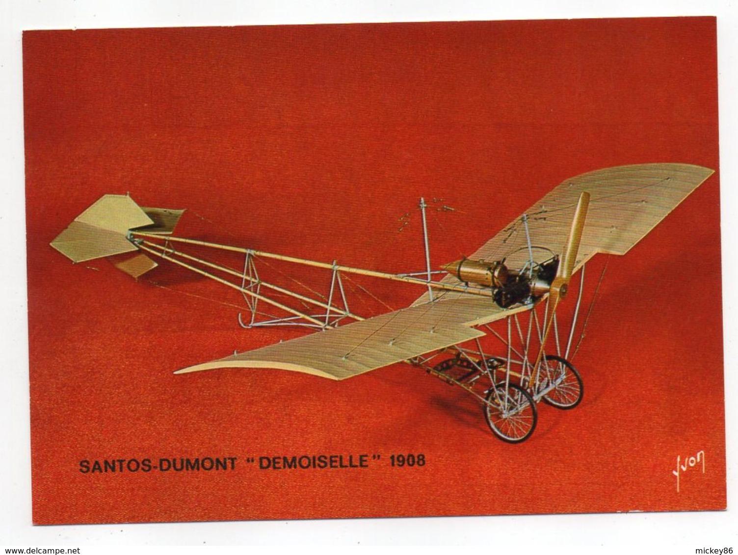 """Les Collections Du Musée De L'air--Avion--Santos-Dumont """"Demoiselle""""-- 1908 --modèle Réduit 1/10- - Autres"""
