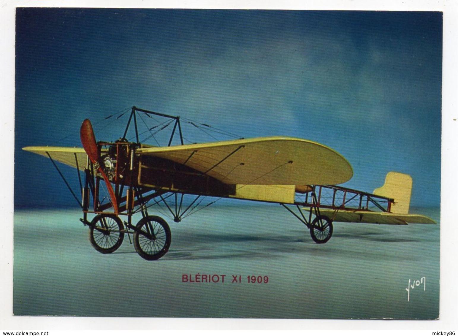 Les Collections Du Musée De L'air--Avion-- BLERIOT   XI     1909 ---modèle Réduit 1/10- - Avions