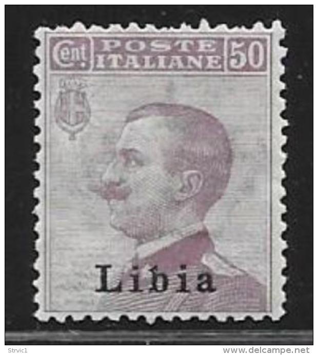 Libya, Scott # 11 MNH Italy Stamp Overprinted, 1912, CV$95.00 - Libya