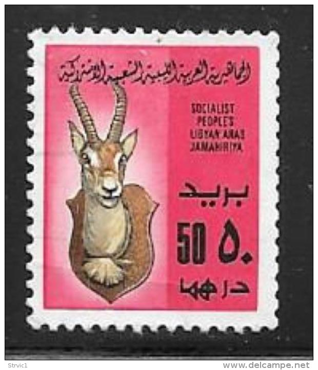 Libya, Scott # 778 Used Stag's Head, 1979 - Libya