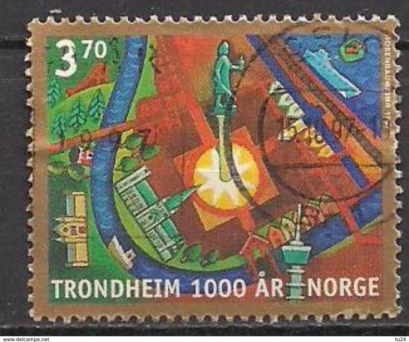 Norwegen  (1997)  Mi.Nr.  1257  Gest. / Used  (3ev23) - Norwegen