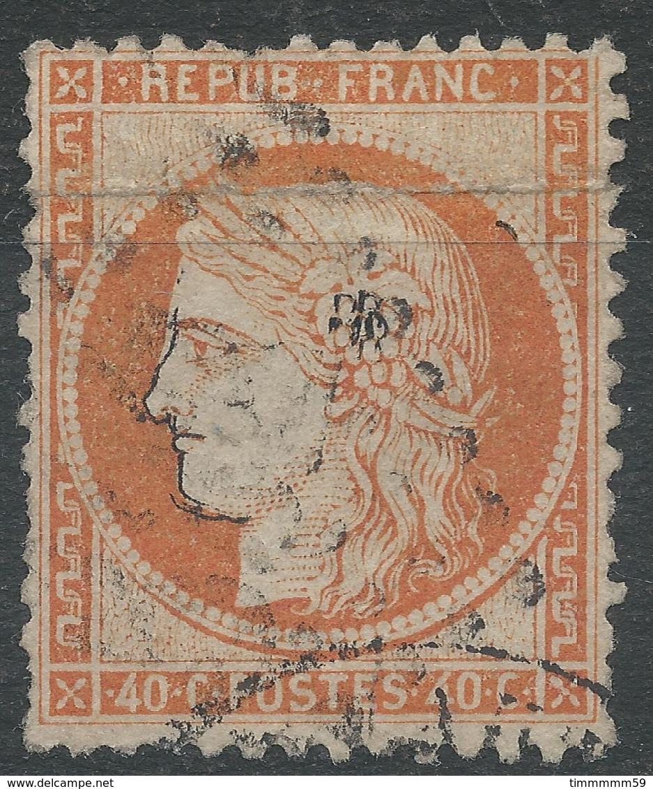 Lot N°40439   N°38, Oblit GC - 1870 Siege Of Paris