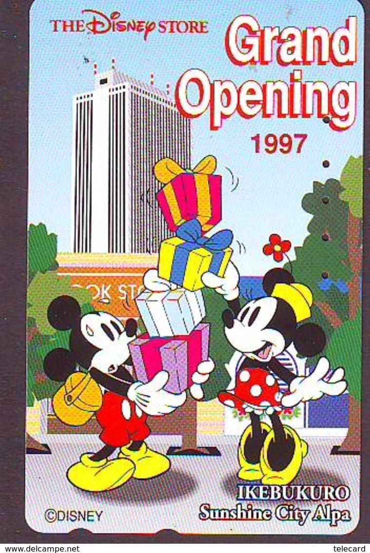 Télécarte JAPON * 110-193074 * DISNEY STORE (5985) PHONECARD JAPAN * Telefonkarte * GRAND OPENING * TIRAGE 10.000 * - Disney