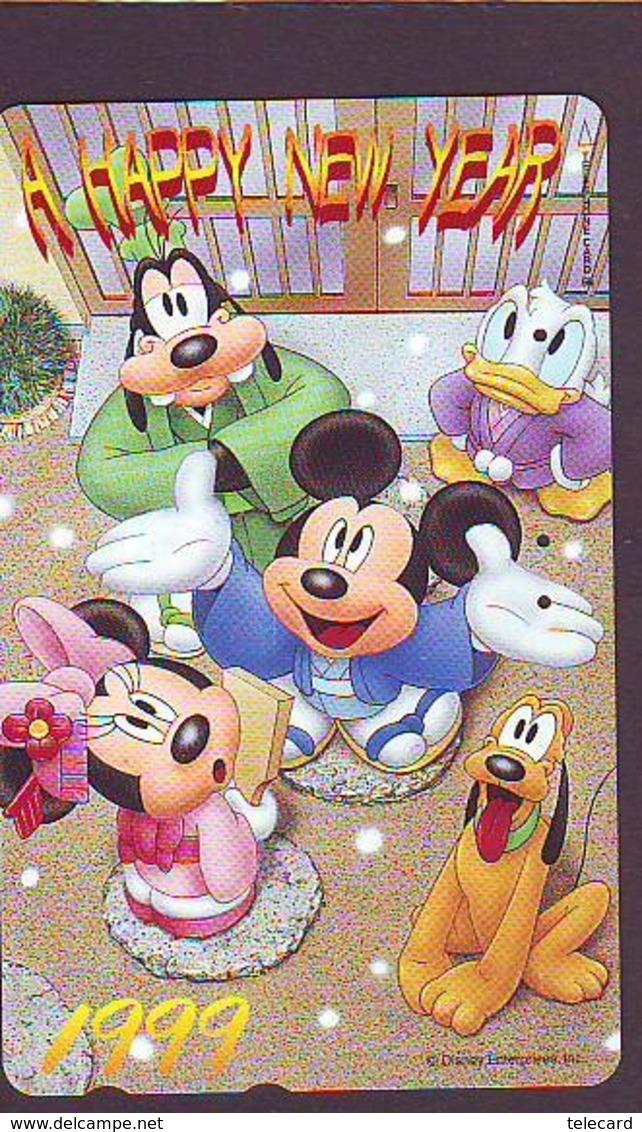Télécarte  JAPON  DISNEY  (5986)  Phonecard Japan * Telefonkarte  *  110-203010  * SERIE NR. 5 - Disney