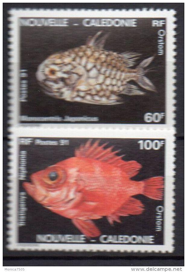 NOUVELLE-CALEDONIE ( POSTE ) : Y&T N°  617/618  TIMBRES  NEUFS  SANS  TRACE  DE  CHARNIERE , A  VOIR . - New Caledonia