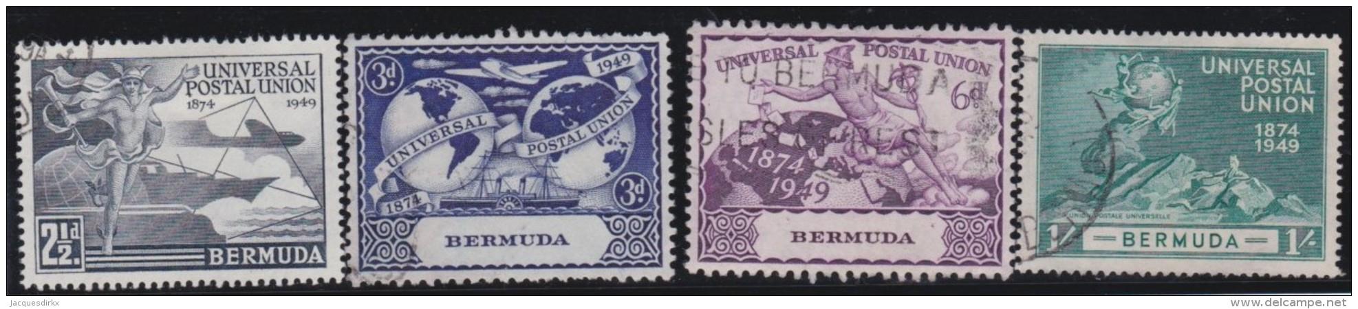 Bermuda       .   SG   .     130/133      .       O   .      Cancelled   .   /   .   Gebruikt - Groot-Brittannië (oude Kolonies En Protectoraten)