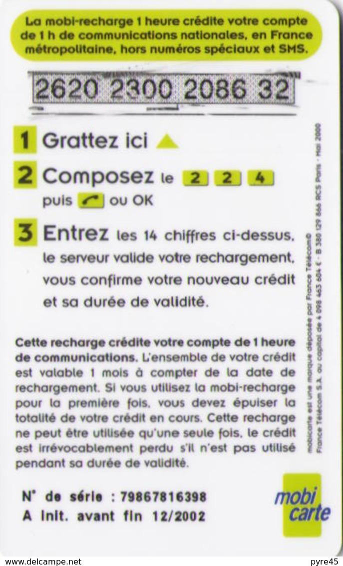MOBICARTE 1 HEURE 12/2002 - France