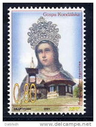 BOSNIA HERCEGOVINA (CROAT) 2001 Madonna Of Kondzilo  Michel 77 - Bosnia And Herzegovina