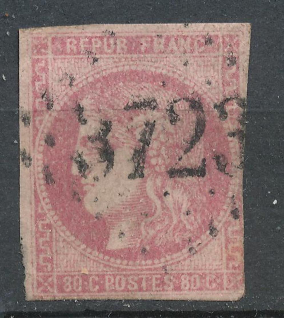 N°49 NUANCE VOIR DESCRIPTIF. - 1870 Bordeaux Printing