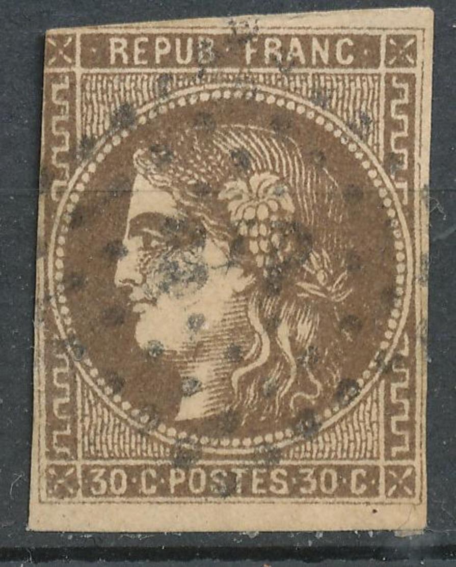 N°47 NUANCE VOIR DESCRIPTIF. - 1870 Bordeaux Printing