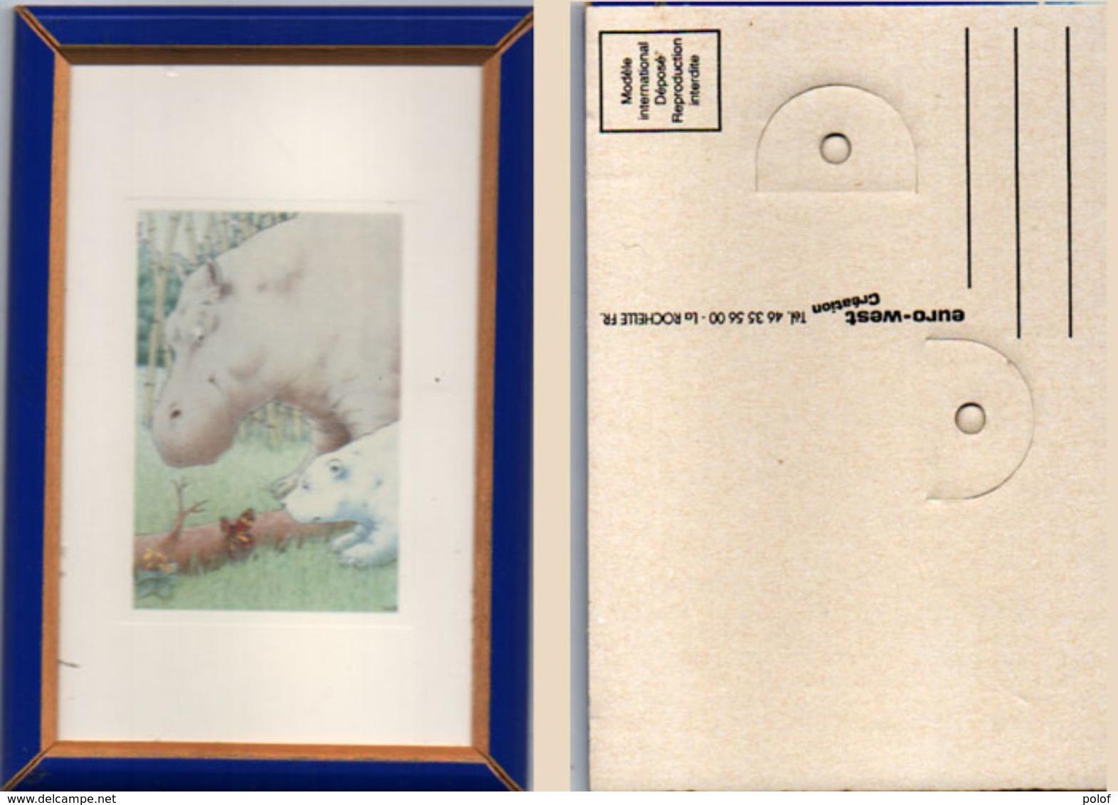 Repro Tableau Miniature Encadré (102398) - Art Populaire