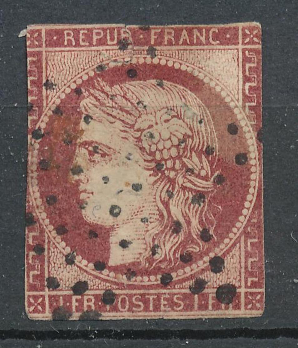 N° 6  NUANCE VOIR DESCRIPTIF. - 1849-1850 Ceres