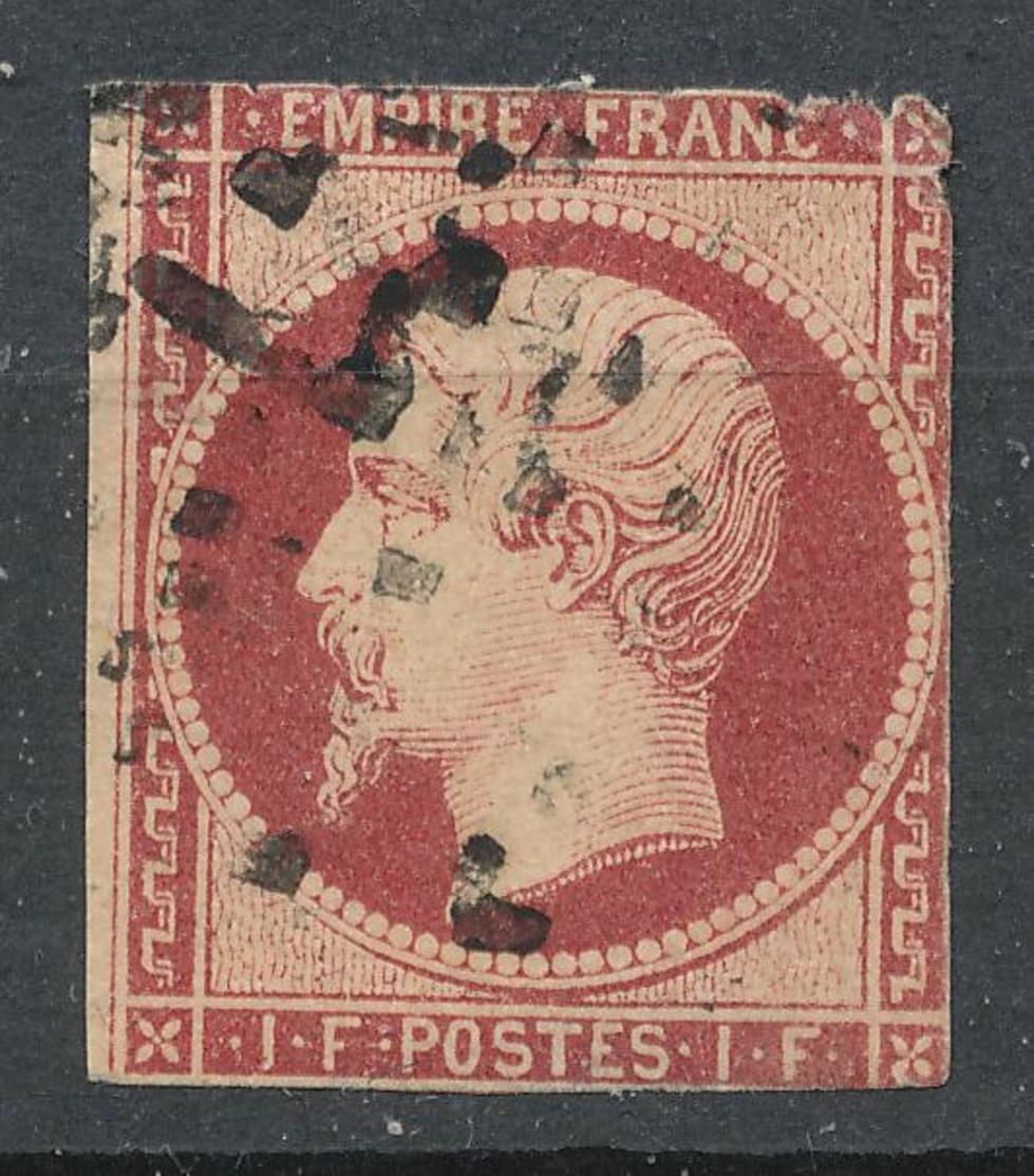 N°18  NUANCE VOIR DESCRIPTIF. - 1853-1860 Napoleon III