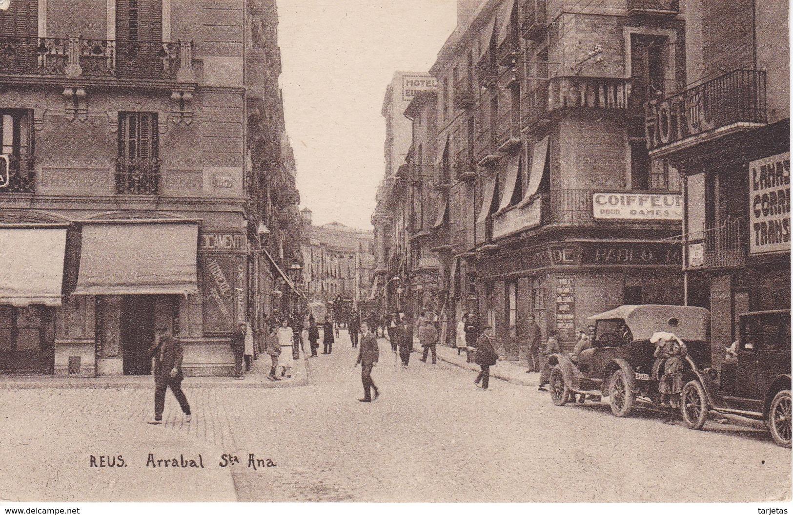 POSTAL DE REUS DEL ARRABAL DE SANTA ANA (JOSE GRAU) - Tarragona