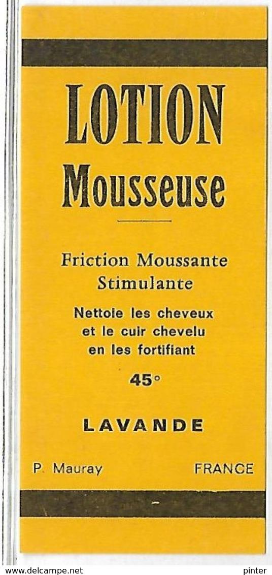 PUBLICITE - LOTION MOUSSEUSE - Werbepostkarten