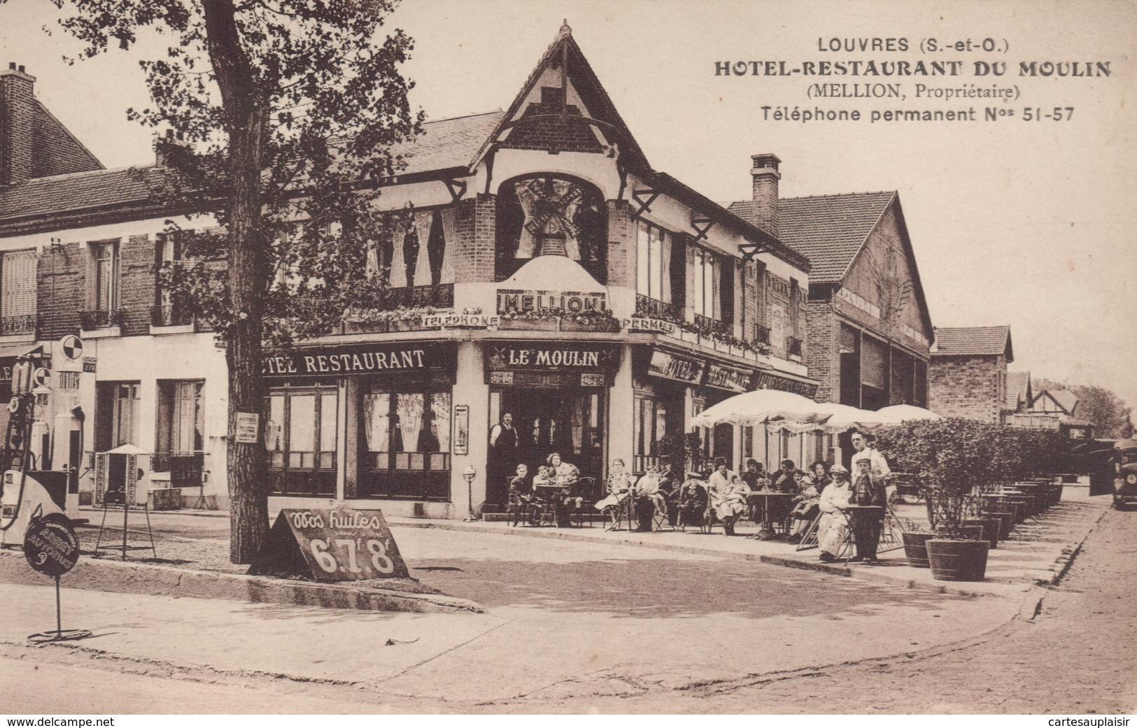 LOUVRES : Hotel Restaurant Du Moulin - Louvres