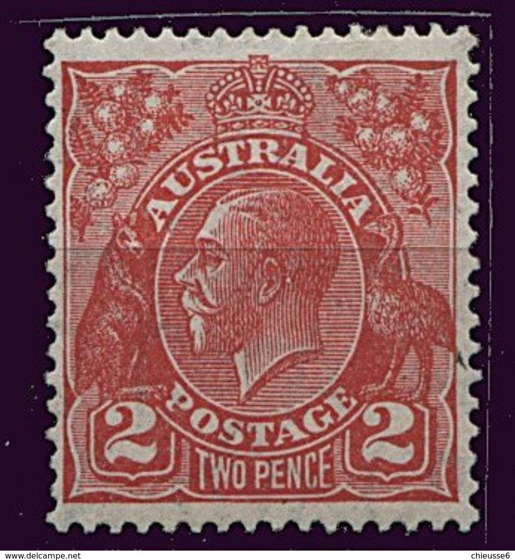 Australie * N° 73 - 1913-36 George V: Heads