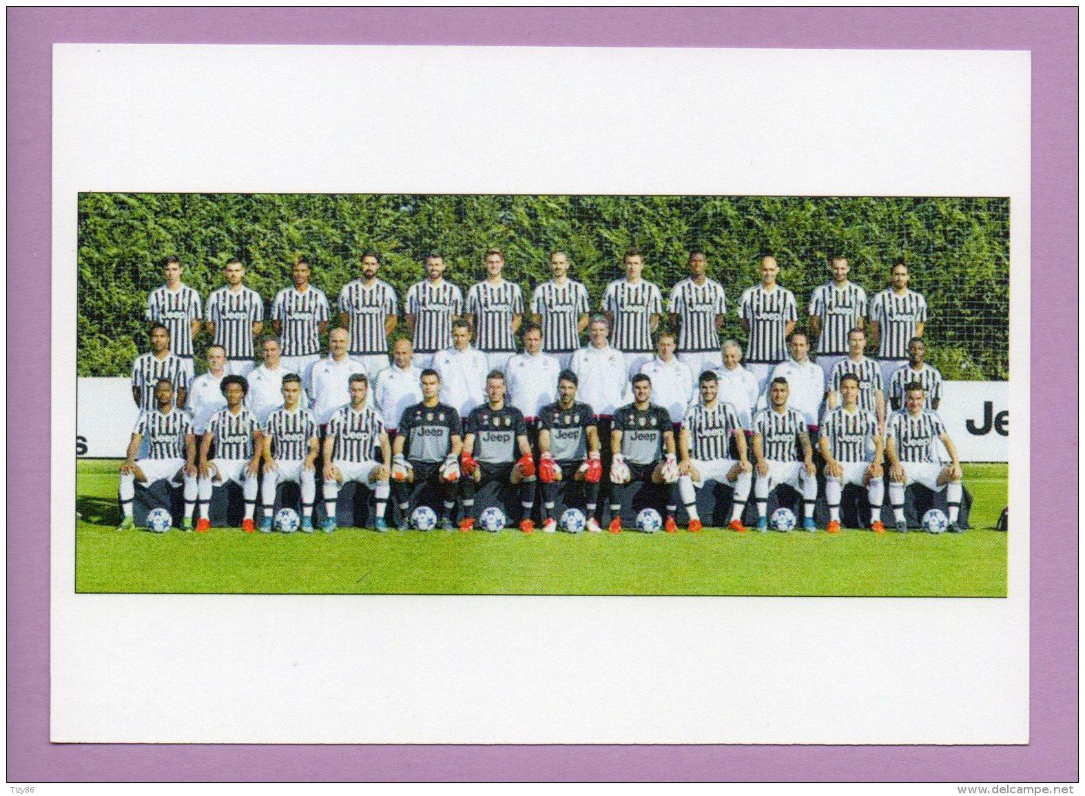 Cartolina Juventus FC, Vincitrice Dello Scudetto  2015/2016 - Football