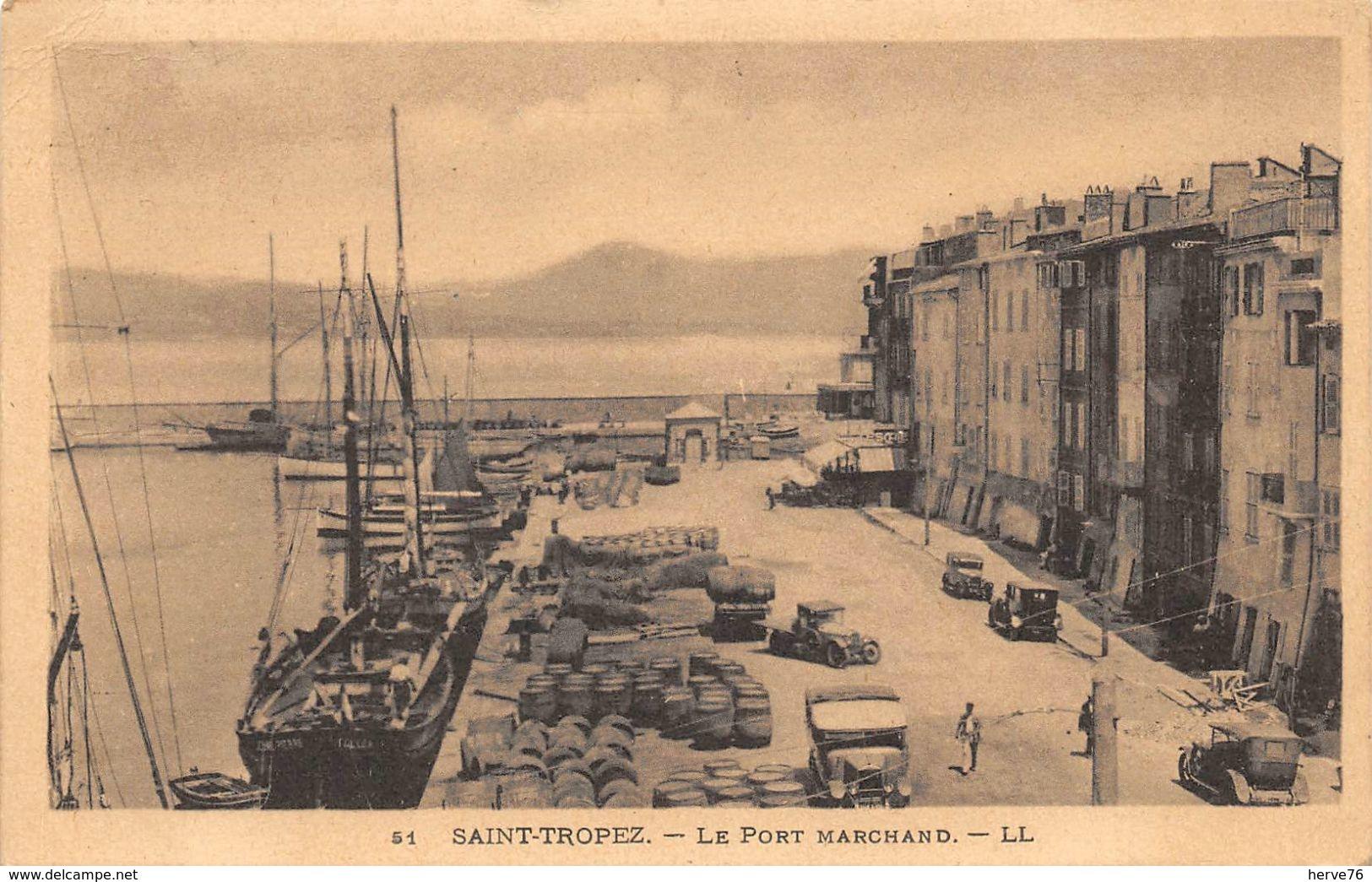 SAINT TROPEZ - Le Port Marchand - Saint-Tropez