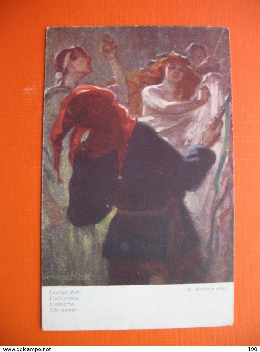 H.Wollner Pinx.Lustige Zeit - Autres Illustrateurs