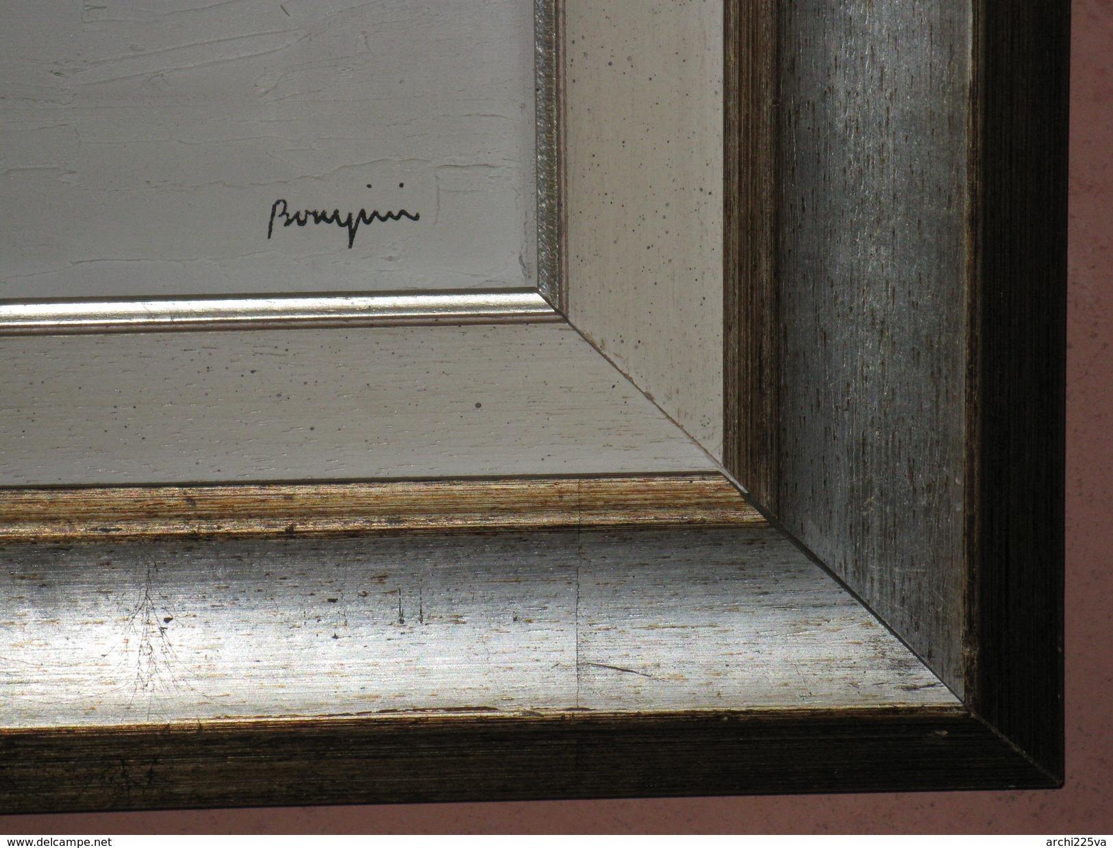 Italia - Sergio BONGINI - 1936 / 2011 - Legnano - Olio Su Tela  Cm. 80 X 80 - Pezzo Unico - Olii