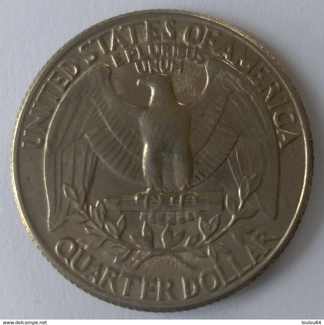 QUARTER  DOLLAR - 1982 - Washington - - Federal Issues