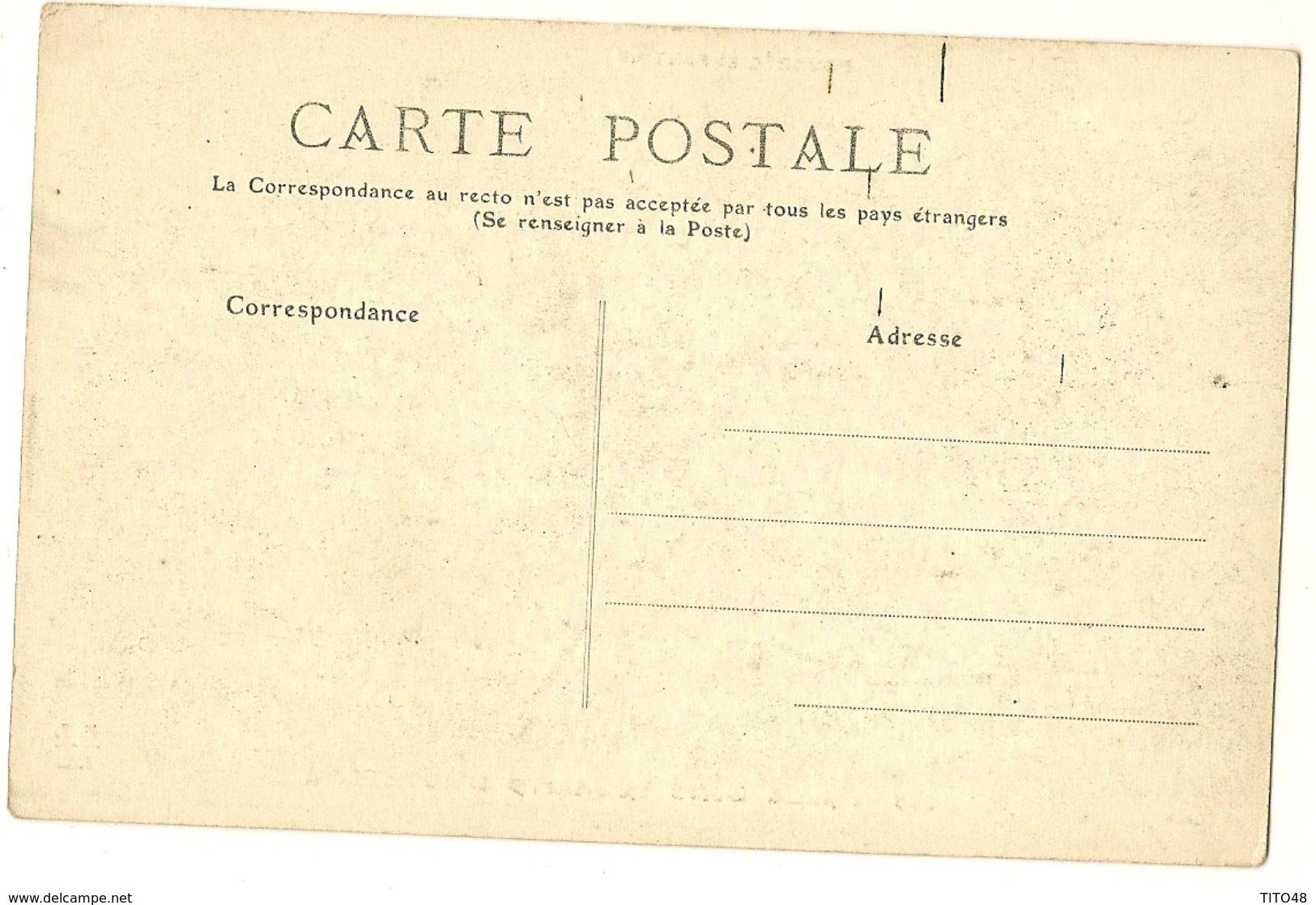 AUVERGNE - Bourrée Enfantine - Mille Bon Souhaits D'Auvergne - France