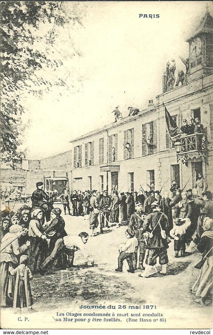 PARIS 20 -Journée Du 26 Mai 1871                 -- C P - Arrondissement: 20