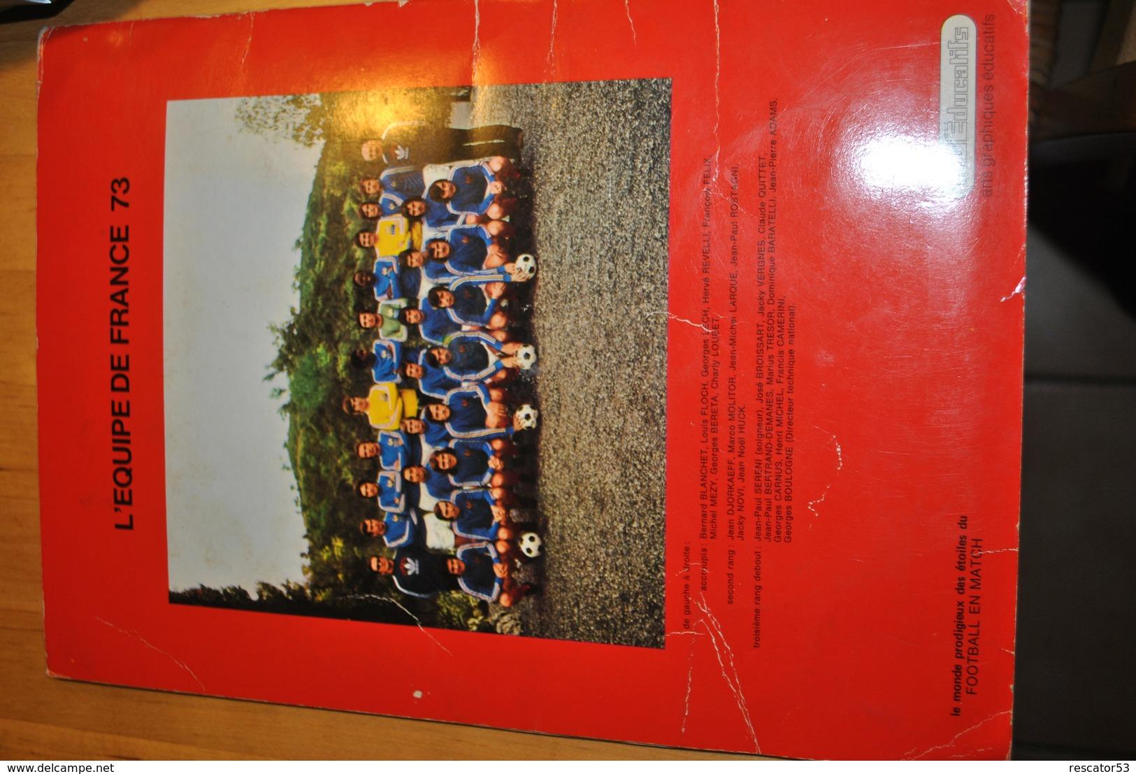 Rare Album Vignettes Autocollantes Football En Match De ACEducatifs 1973 Vignettes 221/286 - Vignettes Autocollantes
