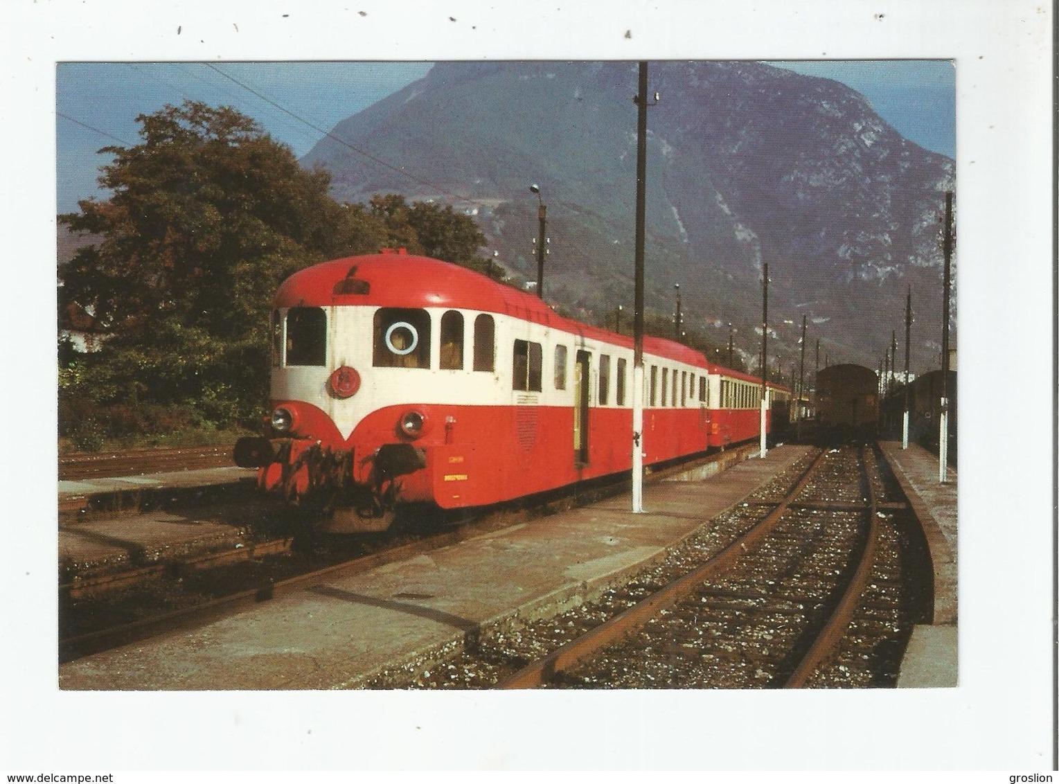 GRENOBLE NOVEMBRE 1971 AUTORAIL DECAUVILLE X 52 000 (1) - Grenoble