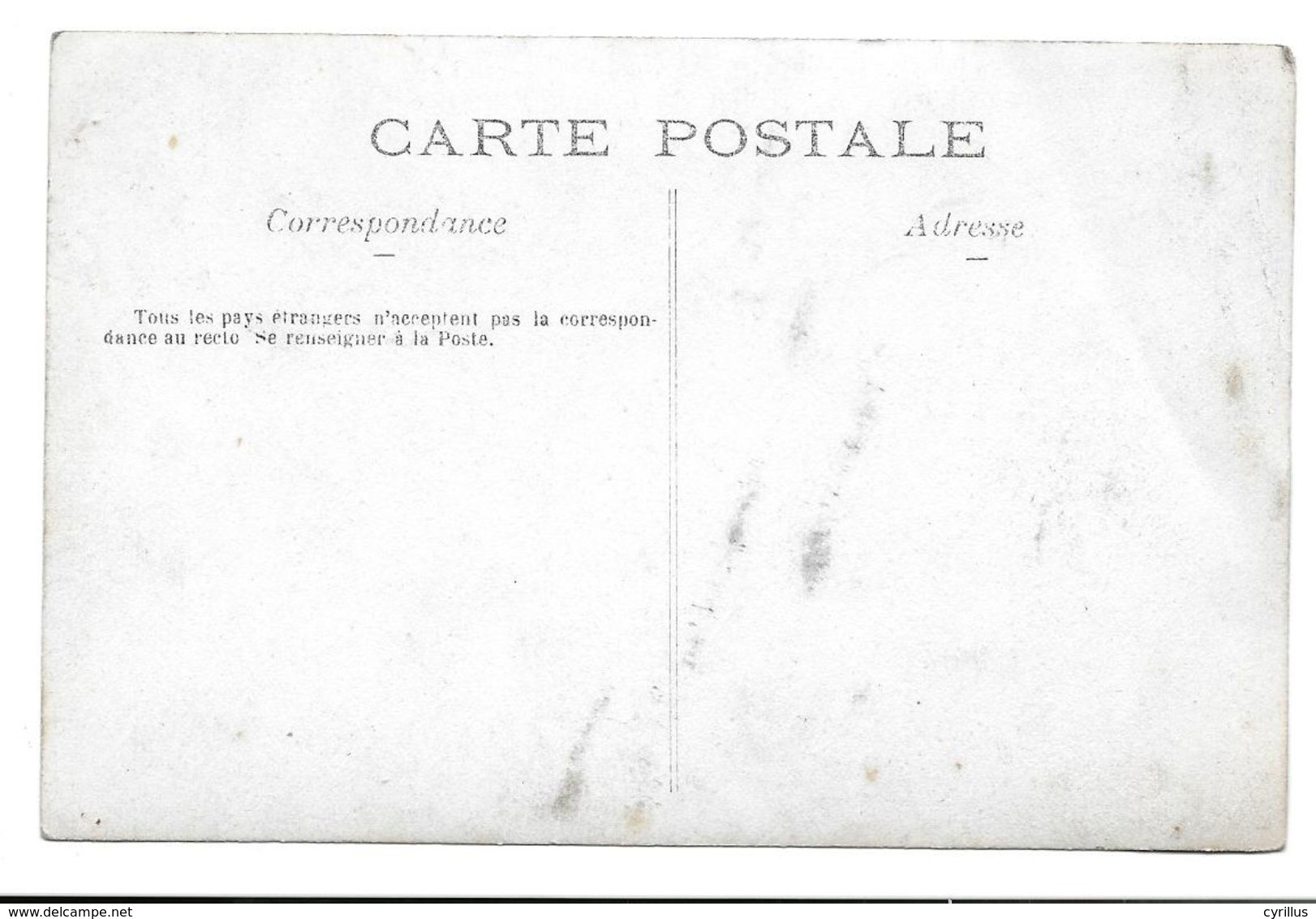 Carte Photo - Machine à Vapeur - A Situer - Paesani