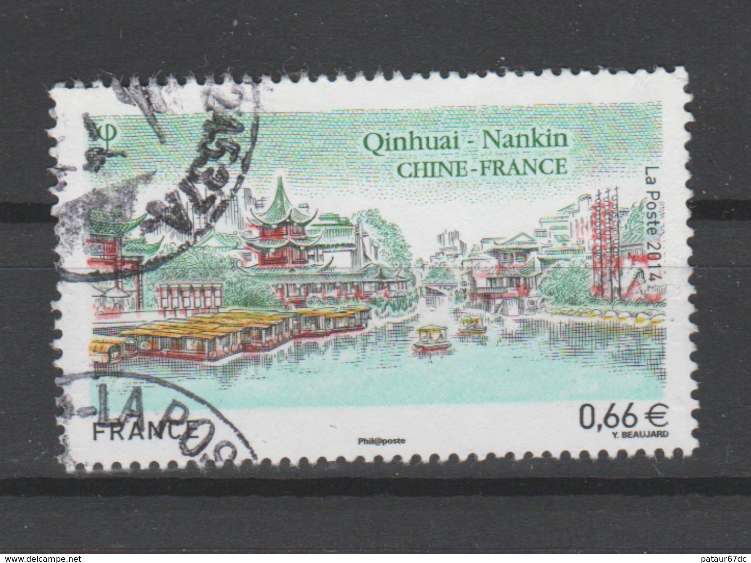 FRANCE / 2014 / Y&T N° 4847 : France - Chine (Nankin) - Choisi - Cachet Rond - France