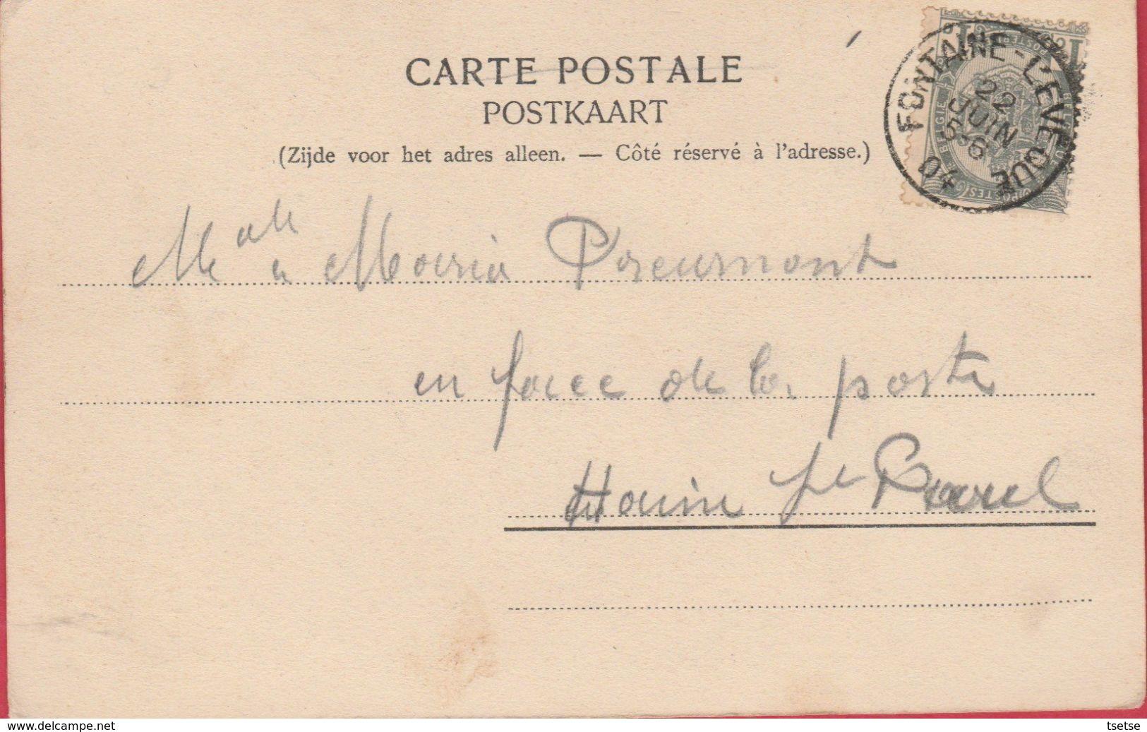 Fontaine L'Evêque - La Babelone - 1904  ( Voir Verso ) - Fontaine-l'Evêque