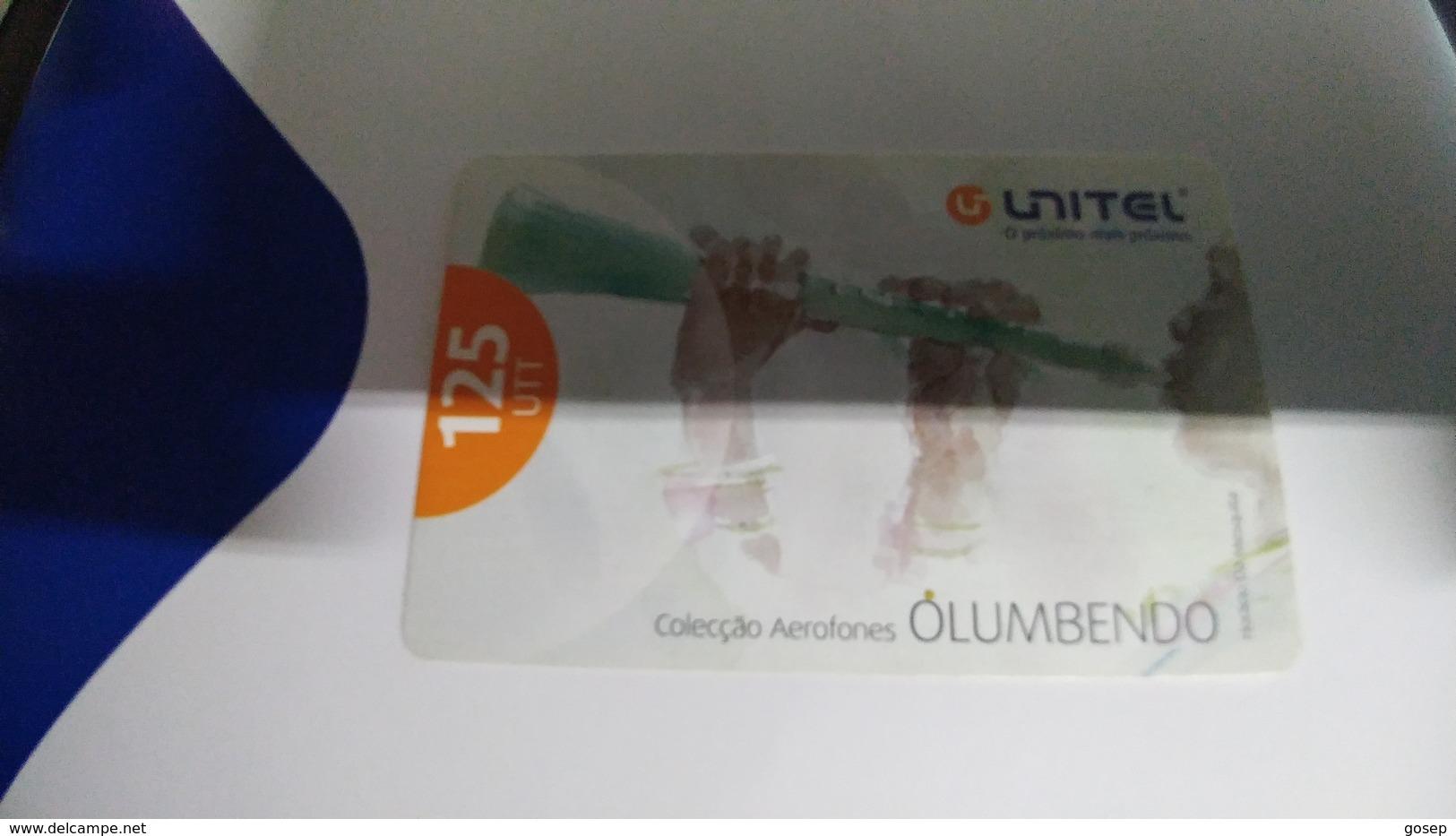 Angola-olumbendo-(21)-(125utt)-31.12.2007-used+1card Prepiad Free - Angola