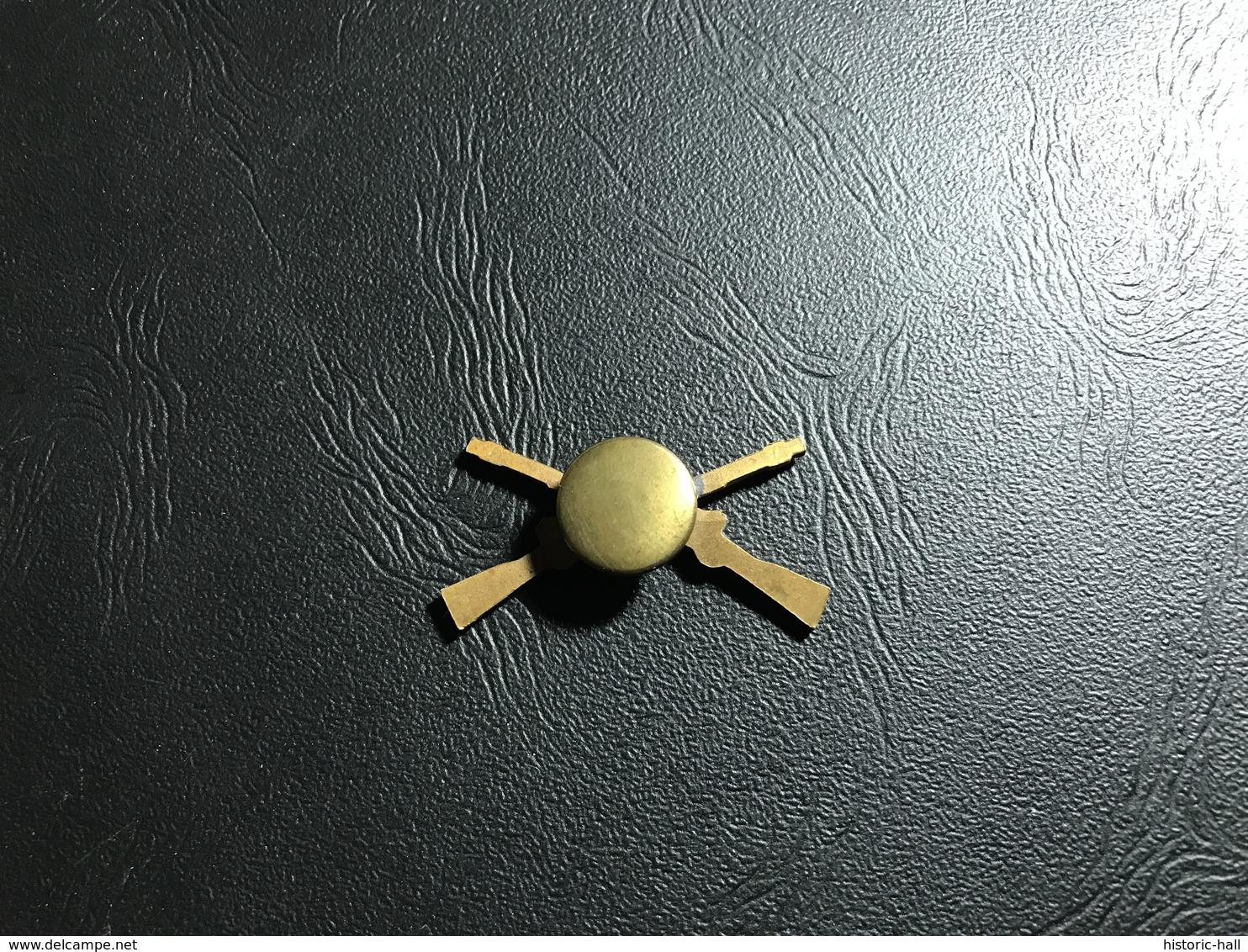 Insigne De Col Sous Offficier Infanterie US WW2 - 1939-45
