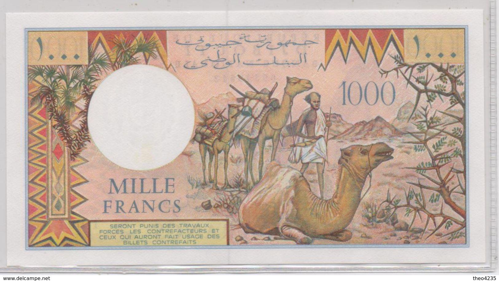 DJIBOUTI BANKNOTE 1000 FRANCS-1988-UNC(K) - Djibouti