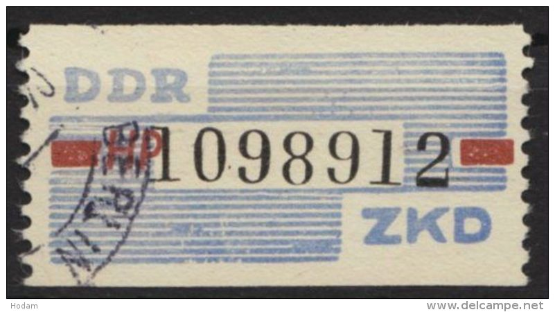 "ZKD : 28 HP, ""Berlin"", Sauber Gestempelt - DDR"