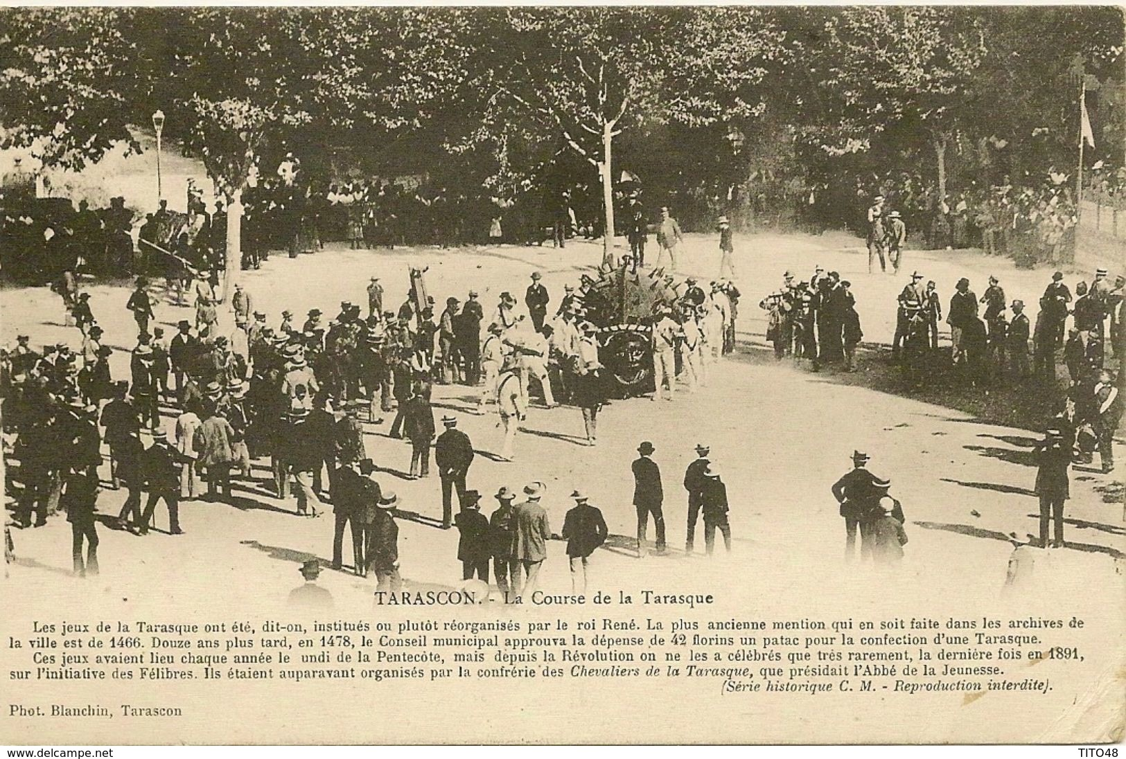 La Course De La Tarasque - TARASCON - Tarascon