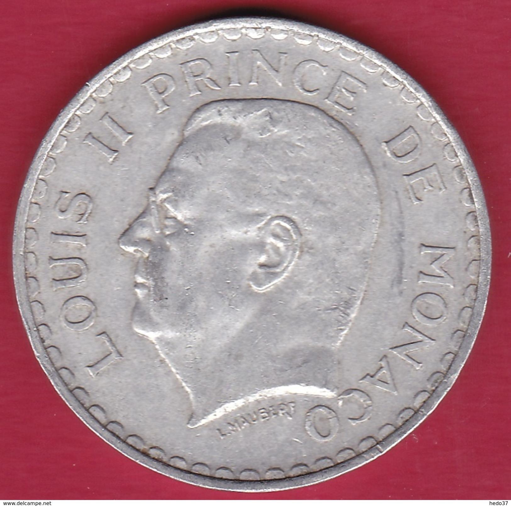 Monaco - Louis II - 5 Francs Aluminium (1943) - Monaco