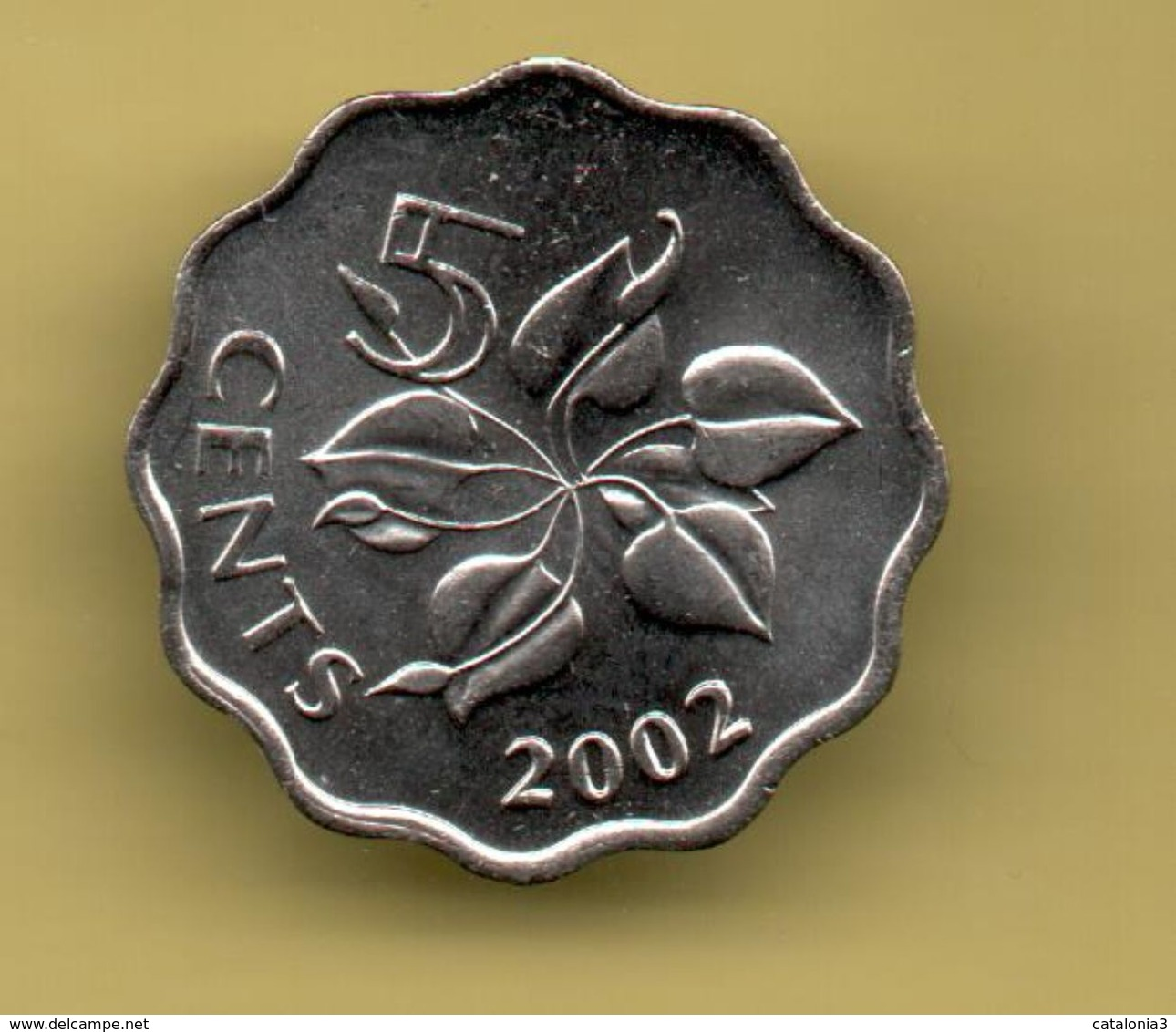 SWAZILAND - 5 CENTS 2002 KM48 - Swaziland