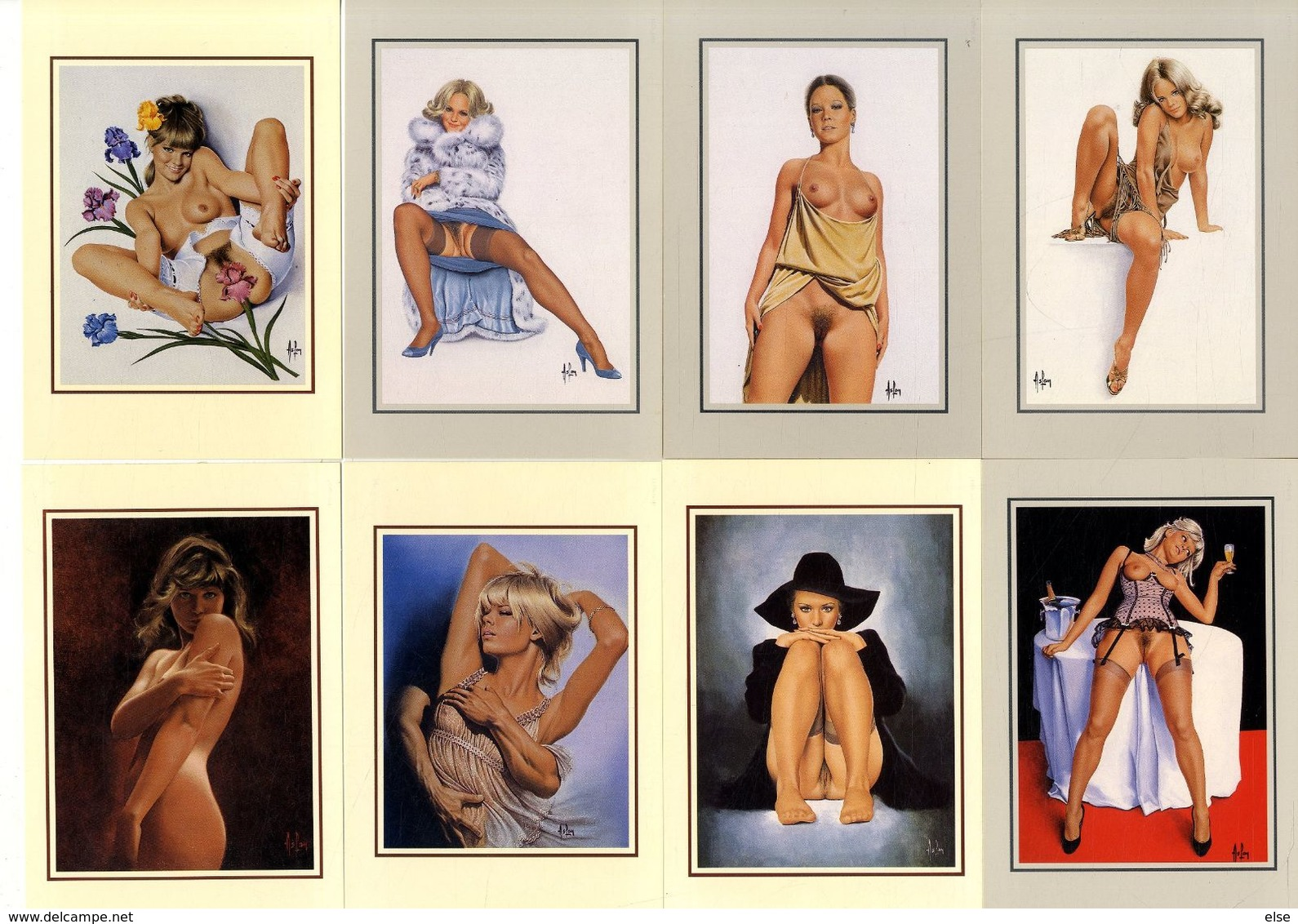 ASLAN   SERIE   12 CARTES 1991  -  TIRAGE LIMITE   EDITIONS ASLAN - Aslan