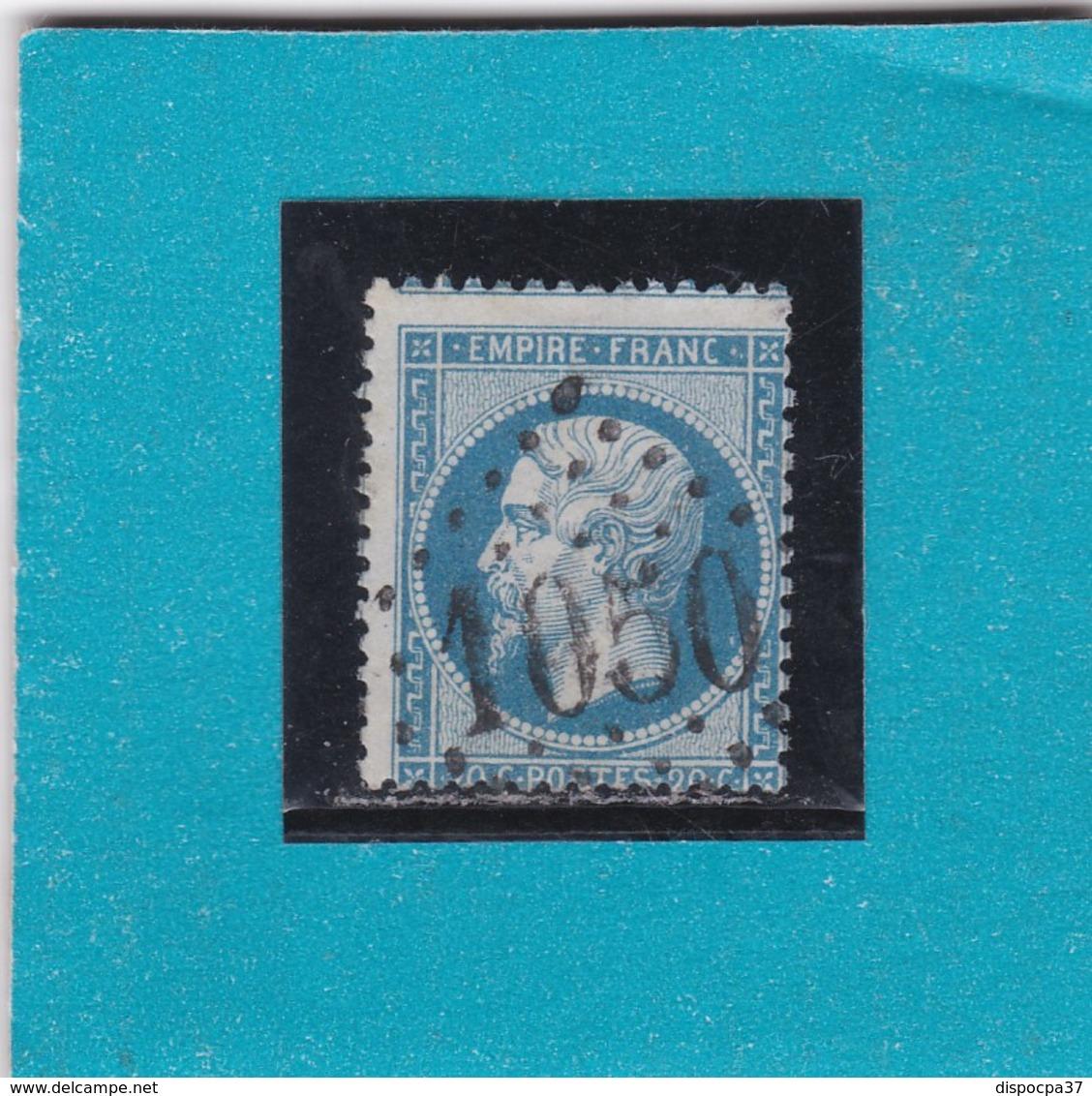 N° 22  GC   1050  CLERMONT-de-L'HERAULT  /  HERAULT  - REF 9820 - 1862 Napoleon III