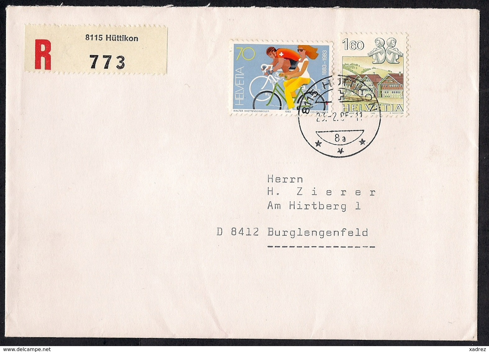 Los  1359 - Briefmarken