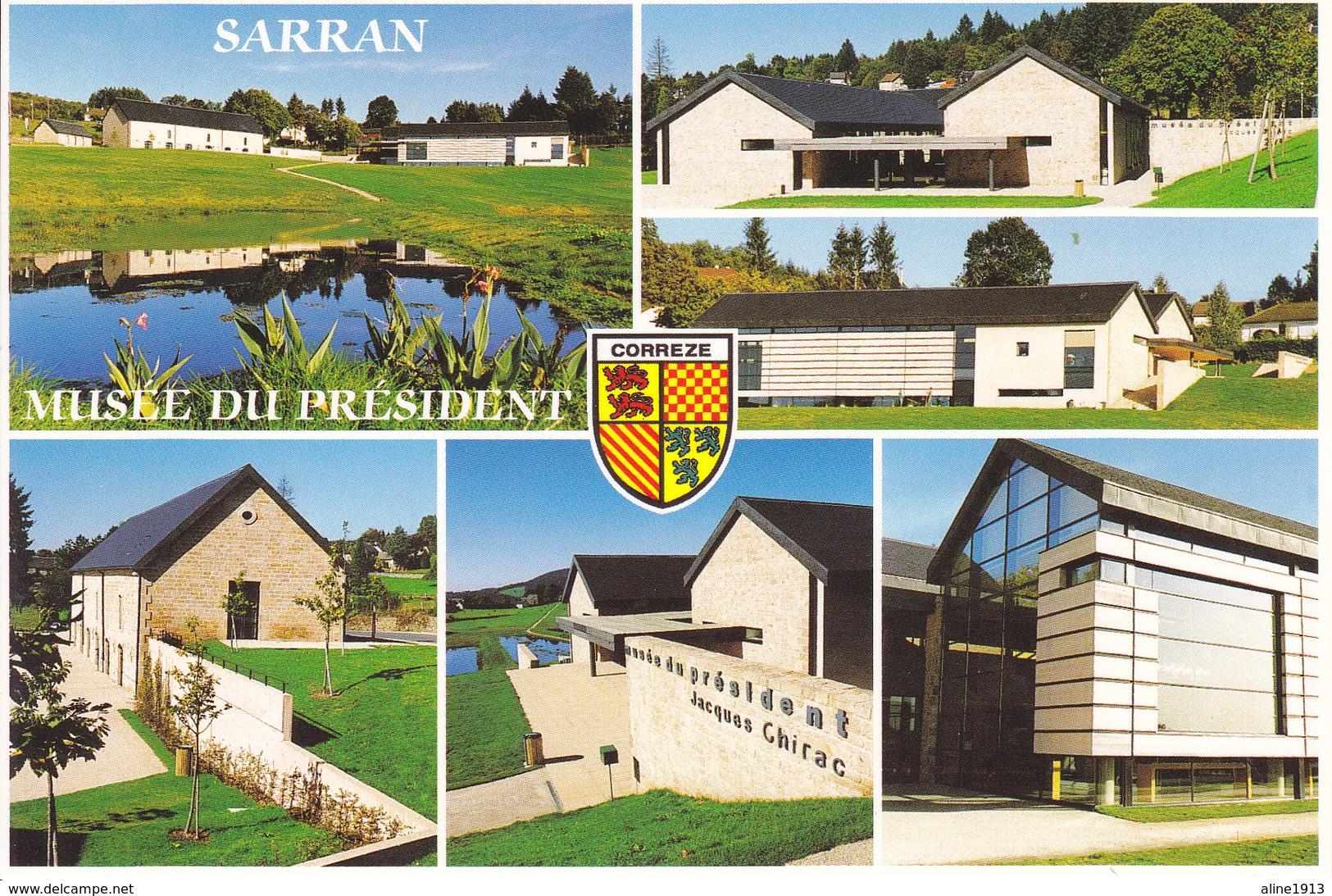 19  SARRAN - MULTIVUES / MUSEE DU PRESDIDENT JACQUES CHIRAC / - Francia