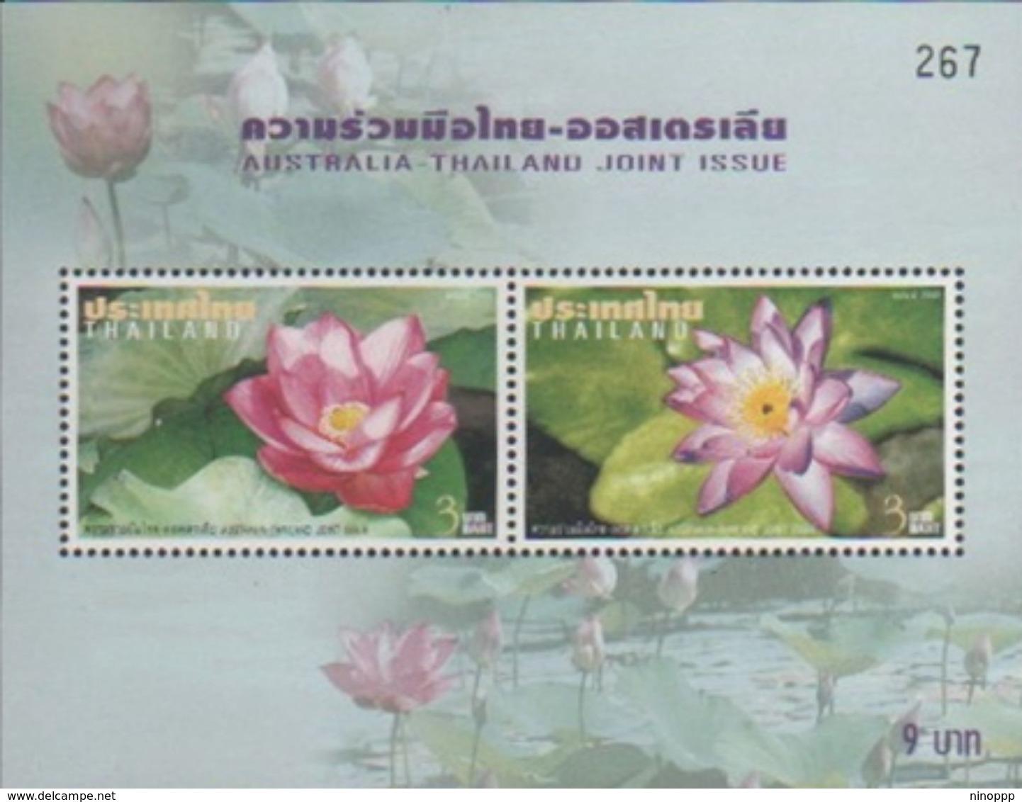 Thailand 2002 Joint Issue With Australia Souvenir Sheet MNH - Thailand