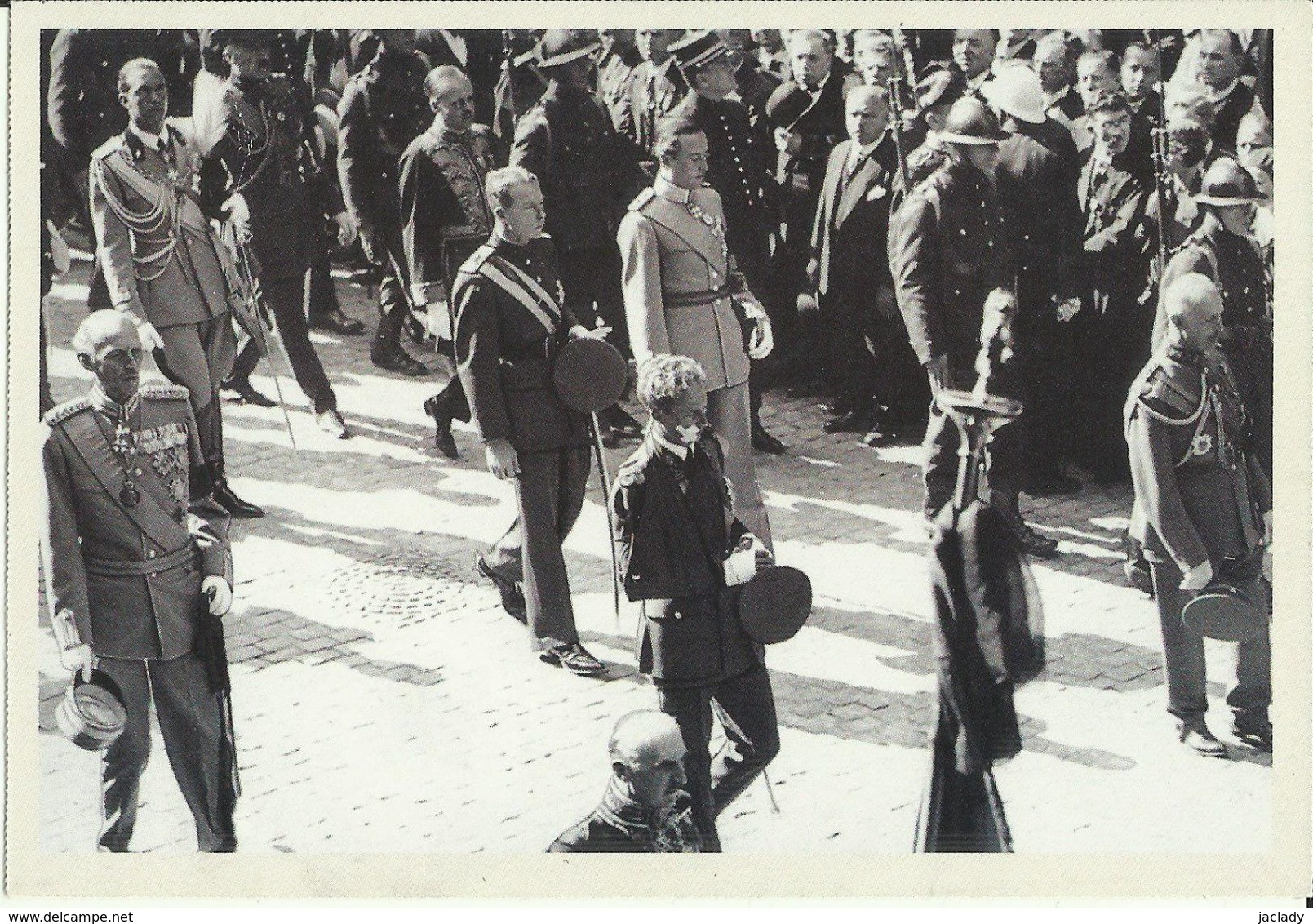 BELGIQUE - Carte N° 89 Du SOIR -- Funérailles De La Reine Astrid En 1935. - Funérailles