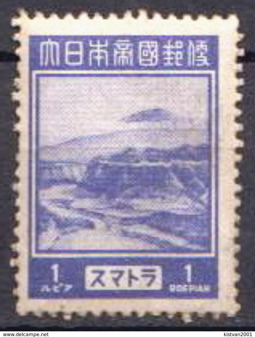 Japan Occupation In Netherlands Indies / Sumatra MH Stamp - Indes Néerlandaises