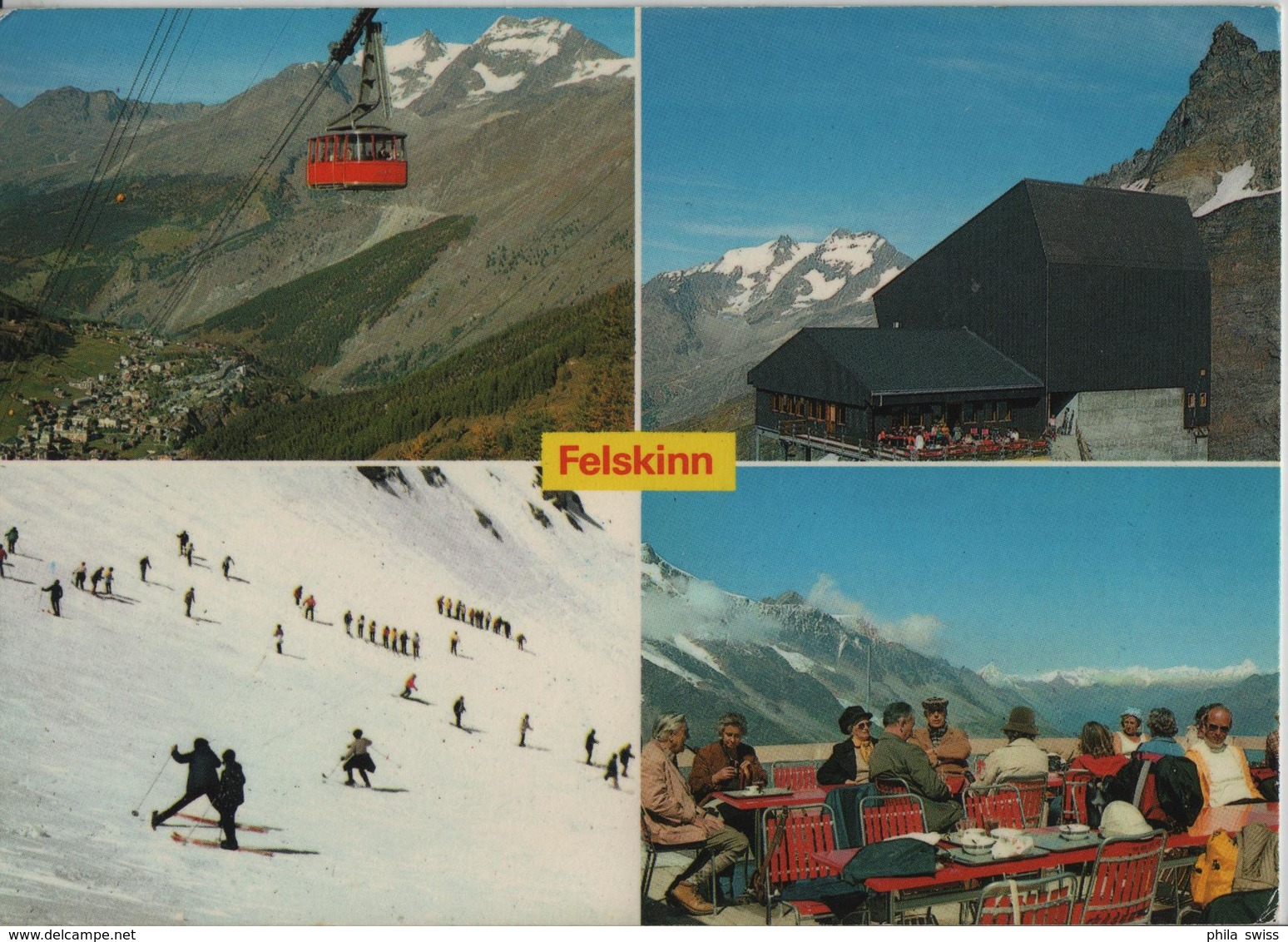 Sommerski Und Wandern Auf Felskinn Bei Saas-Fee - VS Valais